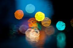 Luzes de néon Fotografia de Stock