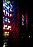 Luzes de néon abstratas Imagens de Stock