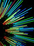 Luzes de néon bonitas coloridas de surpresa perfeitas para papéis de parede e fundos foto de stock