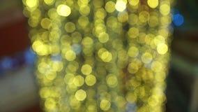 Luzes de Natal vídeos de arquivo