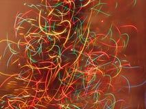 Luzes de Natal ilustração do vetor