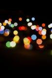Luzes de Natal Foto de Stock Royalty Free