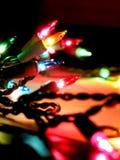 Luzes de Natal Fotografia de Stock Royalty Free