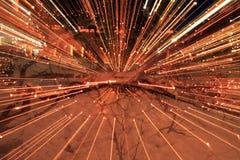 Luzes de Natal Fotos de Stock