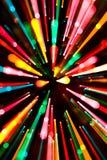 Luzes de Natal abstratas Imagem de Stock Royalty Free