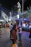 Luzes de Natal de Banguecoque Fotos de Stock