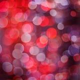 Luzes de Natal de Bokeh Imagens de Stock Royalty Free