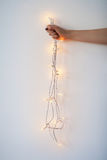 Luzes de Natal disponivéis imagens de stock