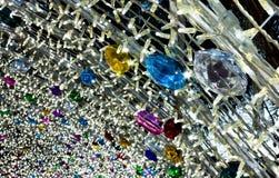 Luzes de Natal em Salerno Imagem de Stock Royalty Free