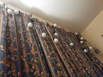 Luzes de Natal fechados Fotografia de Stock Royalty Free
