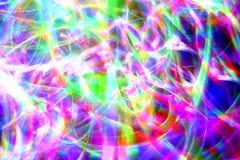 Luzes de Natal no movimento Foto de Stock