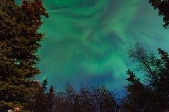 Luzes de Norrthern Fotos de Stock Royalty Free