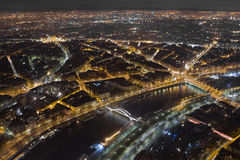 Luzes de Paris Imagem de Stock Royalty Free