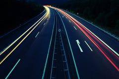Luzes de rua Fotografia de Stock