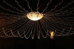 Luzes de rua Fotos de Stock Royalty Free