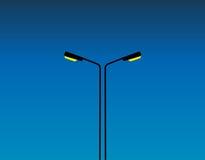 Luzes de rua Foto de Stock Royalty Free