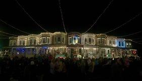 Luzes de rua do milagre Foto de Stock