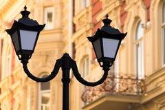 Luzes de rua retros Foto de Stock
