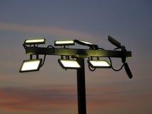 Luzes de rua urbanas Imagem de Stock Royalty Free