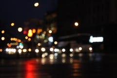 Luzes de ruas Fotografia de Stock Royalty Free