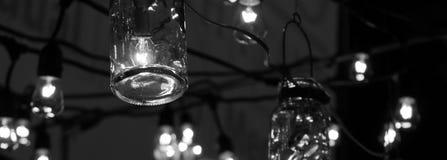 Luzes de suspensão Foto de Stock Royalty Free