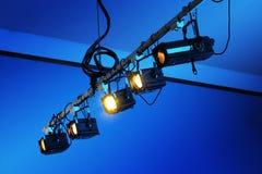 Luzes de teatro Fotos de Stock Royalty Free