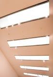 Luzes de teto Fotografia de Stock