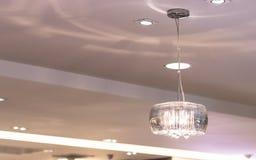 Luzes de teto modernas Fotografia de Stock Royalty Free