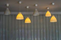 Luzes de teto Recessed imagens de stock royalty free