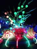 Luzes de Tumbalong fotos de stock royalty free