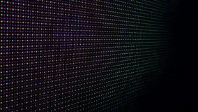 Luzes de Vj na fase vídeos de arquivo