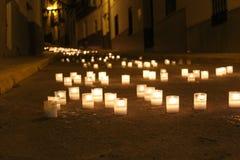 Luzes decorativas imagens de stock royalty free