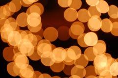 Luzes Defocused Imagem de Stock Royalty Free