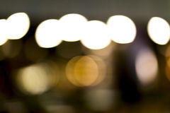 Luzes defocused de Bokeh Imagens de Stock