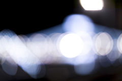 Luzes defocused de Bokeh Foto de Stock Royalty Free