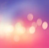 Luzes Defocused, fundo abstrato do borrão para o design web Fotos de Stock Royalty Free