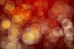 Luzes Defocused vermelhas Foto de Stock