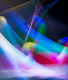 Luzes do borrão da onda do sumário da cor da meditação dentro Fotografia de Stock Royalty Free