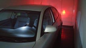 Luzes do carro Fotografia de Stock