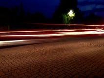 Luzes do carro Fotografia de Stock Royalty Free