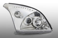 luzes do carro foto de stock royalty free