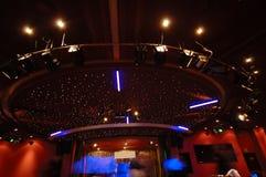 Luzes do clube nocturno fotografia de stock