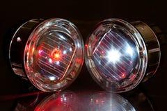 Luzes do diodo emissor de luz Fotografia de Stock
