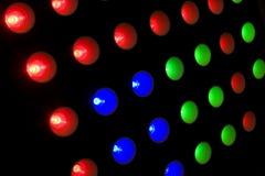 Luzes do diodo emissor de luz fotos de stock royalty free