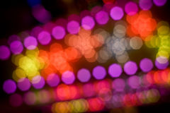 Luzes do disco Foto de Stock Royalty Free