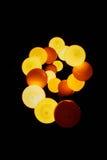 Luzes do espaço Fotografia de Stock