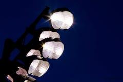 Luzes do estádio Fotos de Stock Royalty Free