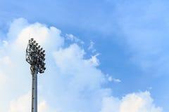 Luzes do estádio Imagens de Stock