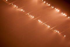 Luzes do estágio Fotos de Stock