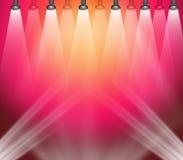 Luzes do estágio Imagem de Stock Royalty Free